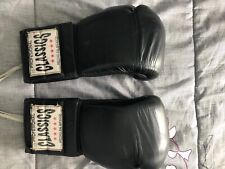 Classic Mexican Made 16oz leather gloves lace up.