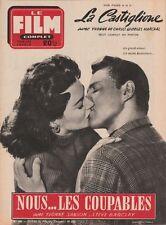 Film Complet N° 495/1955 - Nous Les Coupables, Yvonne Sanson Steve Barclay