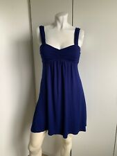 Forever 21 Size Small Babydoll Dress Empire Waist Navy S