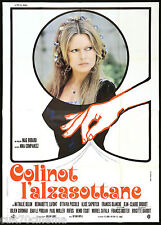 COLINOT L'ALZASOTTANE MANIFESTO CINEMA FILM BRIGITTE BARDOT 1973 MOVIE POSTER 4F