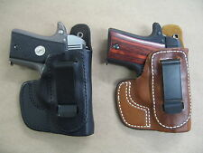 Azula Leather In The Waist IWB Concealment Holster CCW For..Choose Gun Color - C