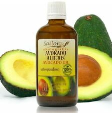 Avocado Oil 100 ml / 3.6oz | 100% Pure Organic Cold Pressed