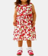 BNWT, Girls, Watermelon & Cherry Print, Dress, Multi-Coloured, Size 3-4 Years