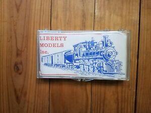 Liberty Models Ma&Pa 1906 Flat Car HO Scale Craftsman Kit NOS (2) Kits
