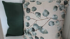 Kissenhüllen  alle Größen + Formen machbar Canvas-Baumwolle + Eukalyptus / grün