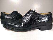 Mens Florsheim Barletta Snakeskin Lace up Dress Shoes sz12 D