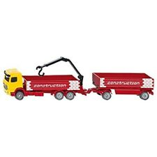Siku Mercedes Benz Truck For Construction And Trailer 1:87,vehicle - 1797 187