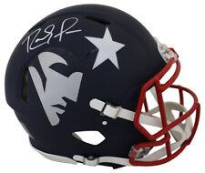 Randy Moss Autographed New England Patriots Authentic AMP Helmet BAS 25639
