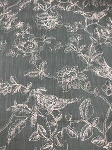 Nightingales Furnishing Fabric, Eucalyptus  90% cotton, 10% linen 1300mm