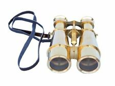Hampton Nautical Captain's Solid Brass Binoculars 6 inches Brass