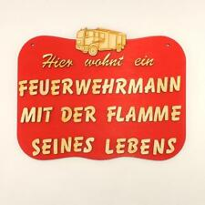 Funny DOOR SIGN FOR THE FIREMAN brilliant gift idea for the Fire Service