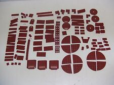 Lego Dark Red LOT 7964 Republic Frigate Parts Star Wars Wine 140+ pieces