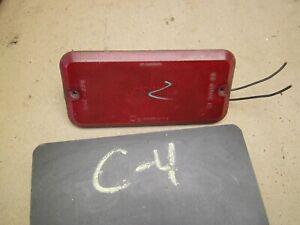 1985 1995 CHEVROLET GMC VAN RED SIDE PARK MARKER SIGNAL LITE LIGHT LENS ASSEMBLY