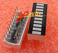 10PCS 10 Segment Digital Blue LED Bar Graph Display Ultra Bright