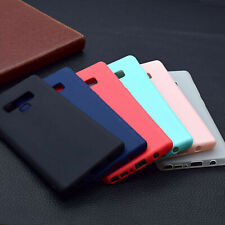 Ultra Thin Soft Rubber Silicone TPU Case Cover For Samsung Galaxy S10/S9+/Note 9