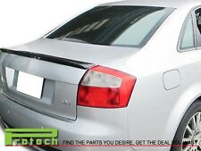 2001-2005 Carbon Fiber S Type Trunk Spoiler Lip fit AUDI A4 B6 Quattro S4 RS4