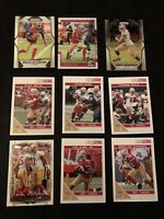 Lot Of 50 San Francisco 49ers' Cards