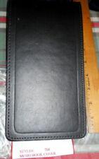 Vintage Black Leather Flexible Top 3 Ring Binders 5w X 9 H 1 Ringnote