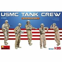 1:35 scale Miniart Usmc Tank Crew. - Crew Min37008 Figures New Plastic Model Kit