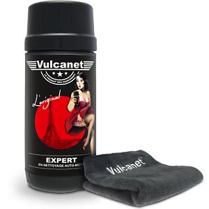 Boîte de 80 lingettes VULCANET lavage nettoyant lustrage moto voiture carrosseri