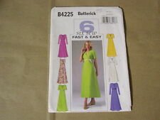 BUTTERICK PATTERN B4225 MISSES', MISSES' PETITE DRESS.  SIZE  8,10,12 UNCUT