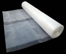 Heavy Duty Clear Polythene Plastic Sheeting 4M X 3M Wide DPM 250Mu,1000 Gauge