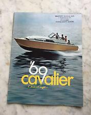 NOS never issued Chris Craft 1969 Cavalier Boat Catalog Futura Ski Boat Cutlass