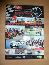 Sachsenring Journal Magazin Kalender Veranstaltungen, Trainings & Co 2014
