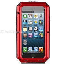 Waterproof Shockproof Metal Aluminum Gorilla Case For iPhone 6 7 8 X XR 5SE PLUS