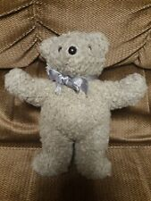 Rare 1985 North American Bear Company Plush Stuffed Animal Teddy Oatmeal squeak