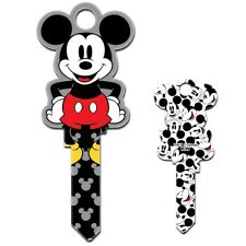 Disney Mickey Mouse Shaped Universal UL2 6-Pin Key Blank