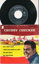 CHUBBY CHECKER EP YOUGOSLAVIE LET'S TWIST AGAIN