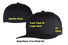 Custom Embroidered Flexfit Hat - Multiple Colors & Styles!!! (Fast Shipping)