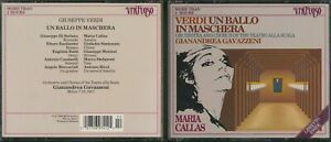 Verdi: Un Ballo in Maschera (CD, 2 Discs, Virtuoso, 1989 Printed in Holland)