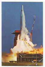 Atlas ICBM Missile Launch US Air Force postcard