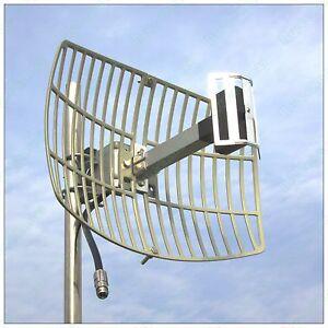 High Gain 17dBi 2.4G WIFI Wireless Grid Parabolic Antenna N Female TDJ-2400SPD4