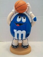 M&M Blue Peanut Basketball Player Mars Inc. Candy Dispenser!