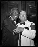 Jackie Robinson Branch Rickey Photo 8X10 Brooklyn Dodgers 1962 Reunion
