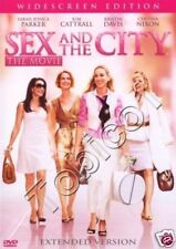 SEX AND THE CITY - THE MOVIE - EXTENDED EDITION - SEALED DVD - PARKER CATRALL