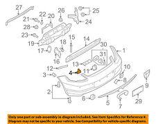 Rear Bumpers Parts For Porsche Boxster Sale Ebay. Porsche Oem 0512 Boxster Rear Bumperbumper Cover Retainer 98750581500 Fits. Porsche. Porsche Boxster Bumper Parts Diagrams At Scoala.co