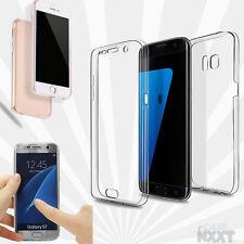 Full TPU Case für Samsung Galaxy Schutz Hülle Handy Tasche Transparent Cover bag