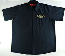 THE RESIDENTS Icky Flix WORK SHIRT Button-up Size XXL vintage 2001 Dickies down