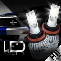 XENTEC LED HID Headlight kit H11 White for Hyundai Elantra GT 2013-2017