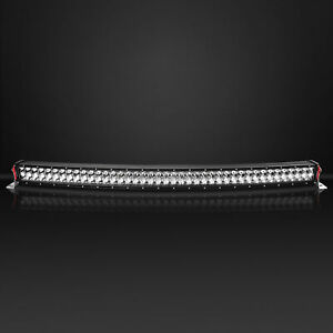 Curved Led Light Bar   Work Offroad 4X4WD  Combo 42″ Inch+Wiring Harness