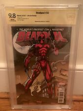 DEADPOOL #33 VARIANT JIM LEE COVER ART NM (2017) Jim Lee Signature CBCS 9.8