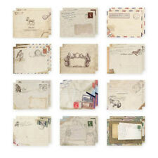 12pcs Greeting Card Envelopes Cute Retro Lovely Vintage Mini Envelope 9.5x7.2cm