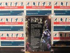 2001 NECA KISS Alive! 72 Card Set