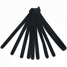 10pcs Reusable Fastener Hook & Loop Cable Cord Ties Tidy Straps Wraps Adjustable