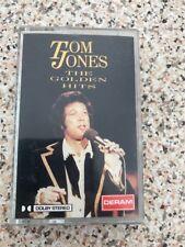 Original Album Cassette Tape - Tom Jones - The Golden Hits - Deram