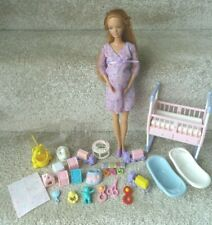 Barbie Happy Family Pregnant Midge Doll with Bump,Cot,Cots,Toys & Accessories